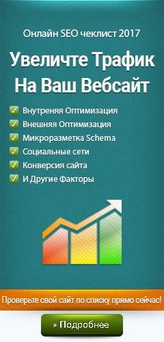 SEO checklist
