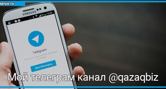 @qazaqbiz мой телеграм канал