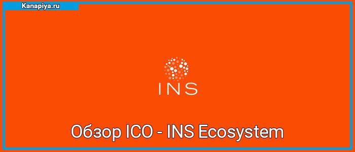 Обзор ICO - INS Ecosystem