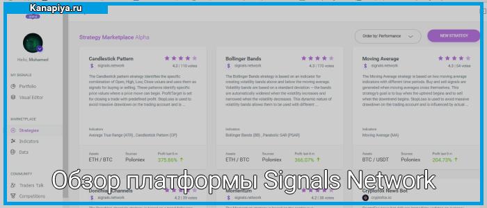 Обзор платформы Signals Network