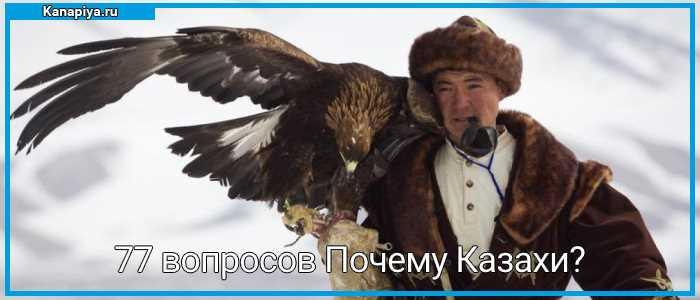 77 вопросов Почему Казахи
