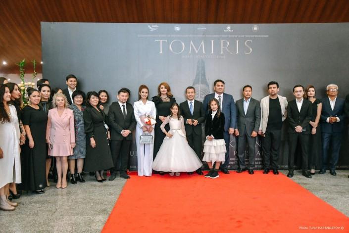 Кадры с премьеры фильма Томирис
