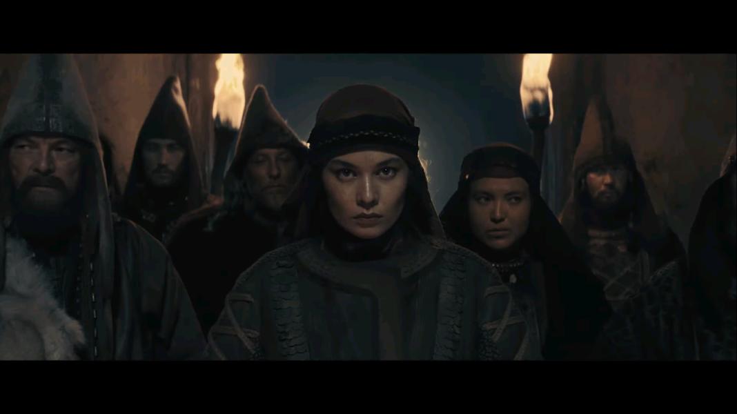 Кадр из фильма Томирис. Томирис возвращает себе трон массагетов